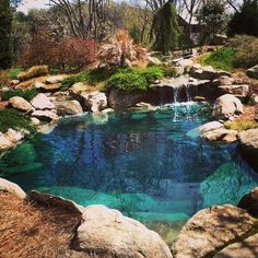Natur Pool the pool landscaping Inviting Landscapes Refreshment – Natural Swimming Pools Designs Natural Swimming Ponds, Natural Pond, Swimming Pools Backyard, Ponds Backyard, Swimming Pool Designs, Pool Landscaping, Lap Pools, Indoor Pools, Pool Decks