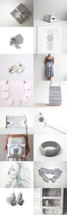 The grey and the white by Anna on Etsy--Pinned with TreasuryPin.com