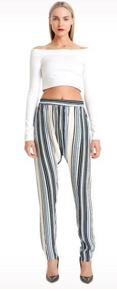 Jessie - A Fashion Boutique - Torn - CEECEE Crop Top Ponte - White, $145.00 (http://www.jessieboutique.com/products/torn-ceecee-crop-top-ponte-white.html)