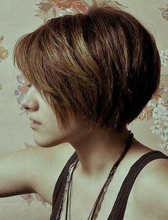20.Short Hair Style for Women