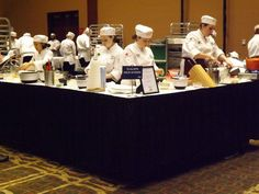 Members of the Tualatin High culinary team at the Oregon ProStart High School Culinary Championships.