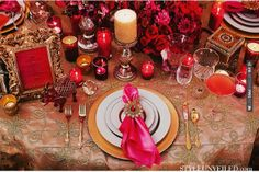 Wow! - Bombay Dreams Wedding | CHECK OUT MORE GREAT RED WEDDING IDEAS AT WEDDINGPINS.NET | #weddings #wedding #red #redwedding #thecolorred #events #forweddings #ilovered #purple #fire #bright #hot #love #romance #valentines