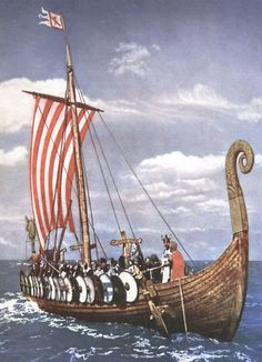 Viking Ship, Viking Art, Viking Warrior, Ancient Vikings, Norse Vikings, Norse Pagan, Norse Mythology, Viking Longboat, Viking Longship