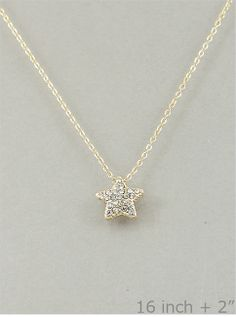 You're My Lucky Star Gold Plated Necklace from P.S. I Love You More Boutique