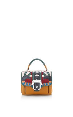 Naca Patterned-Leather Tote Bag by Paula Cademartori Now Available on Moda Operandi