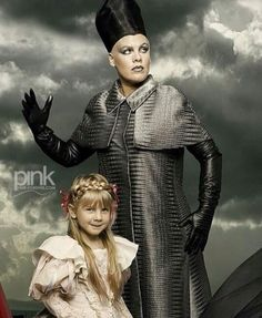 P!nk and daughter Willow