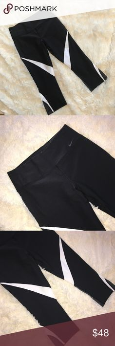 Nike Legend Tight Fit Capri Leggings Brand New! Size Meduim. Super comfortable and stretchy material. Good for those long workouts. 88% polyester, 12% spandex. Pants Leggings