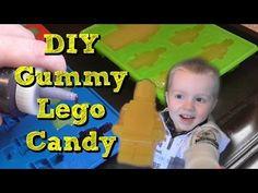 How to make LEGO Gummy Jello Candy - DIY LEGO Gummy Candy - YouTube