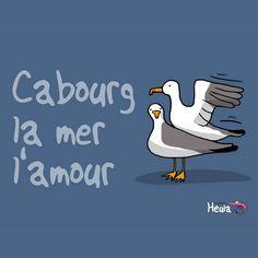 Cabourg, son Grand Hôtel, son romantisme, ses plages, son hippodrome, ses goélands et sa boutique Heula !!!!