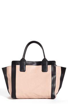 alison small leather tote / chloe