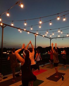 It was magical tonight! There were planets and fireworks and thee most perfect summer breeze Only three rooftop classes left for summer