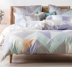 Equinox Quilt Cover Set by Linen House
