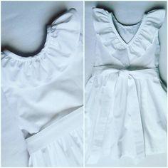 Sukienka uszyta z tkaniny bawełnianej idealny na letnie upały - 80 zł