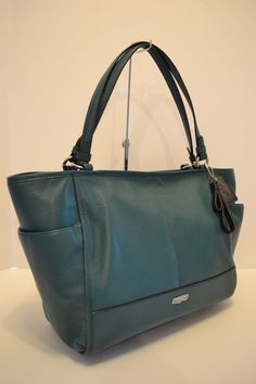 c723346fd21e NWT COACH PARK LEATHER CARRIE TOTE SHOULDER BAG in TEAL  fashion  clothing   shoes  accessories  womensbagshandbags ...