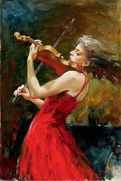 Romantic impressionist painter Andrew Atroshenko (Russian: 1965)