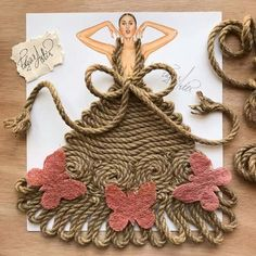 Fashion Illustrator Creates Gorgeous Dress Designs Using Everyday Objects. Design artist Edgar Artis uses adapted patterns items to make lovely dresses. Dress Design Sketches, Fashion Design Drawings, Dress Designs, Arte Fashion, 3d Fashion, Kleidung Design, Fashion Illustration Dresses, Fashion Illustrations, Creative Artwork