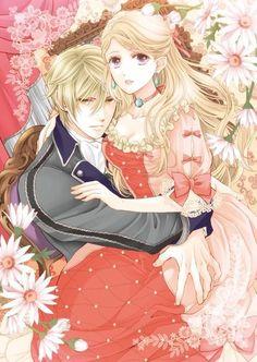Imagini pentru anime couples blonde in bad