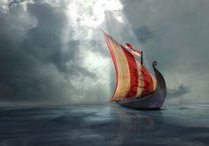 Vikinger-ship by paulchensmom on deviantART