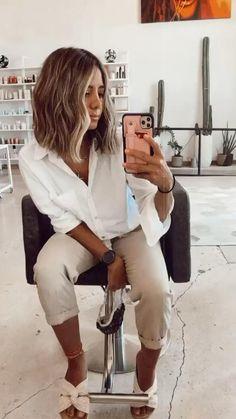 Brown Hair Balayage, Brown Blonde Hair, Hair Highlights, Medium Hair Styles, Curly Hair Styles, Best Hair Salon, Grunge Hair, Great Hair, Hair Looks