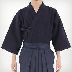 Playwell Arts Martiaux Kendo//Aikido Hakama Bleu