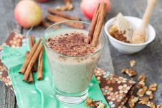 Popular, Effective And Simple – Kefir Diet Apple Smoothie Recipes, Best Apple Recipes, Protein Shake Recipes, Apple Smoothies, Kefir, 200 Calories, Muesli, Yeast Free Diet, Delicious Fruit