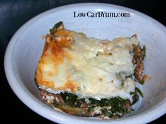 Spinach and Meat Lasagna without Noodles (Paleo Lasagna Meat)