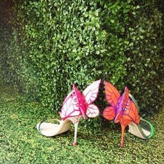Float like a butterfly, sting like a bee in the new Chiara heels by Sophia Webster