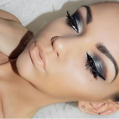 #TheBeautyBoard Makeup of the Day: Metallic Eye & Nude Lip by ivadolce. Upload your look to gallery.sephora.com for the chance to be featured! #Sephora #MOTD