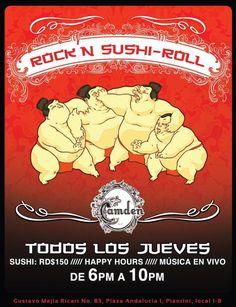 Rock'N Sushi-Roll @ Camden