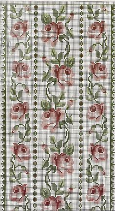 1 million+ Stunning Free Images to Use Anywhere Cross Stitch Love, Cross Stitch Borders, Crochet Borders, Cross Stitch Flowers, Cross Stitch Kits, Cross Stitch Charts, Cross Stitching, Cross Stitch Embroidery, Embroidery Patterns