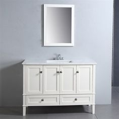 Shown with mirror (sold seperately).