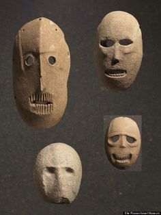 9,000 year old masks from Judea