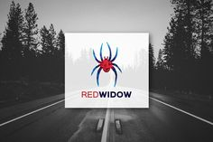 Redwidow - Logo Design Templates LOGO TEMPLATE:The Logo is vector based, created with Adobe Illustrator software. It is fully edita by Congruent Graphics