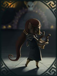 Link's Friendlist: Medli by Zoulouluvu -The Legend of Zelda Wind Waker