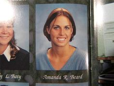 1999 AMANDA BEARD OLYMPIC GOLD Irvine High School CA Original YEARBOOK Citadel