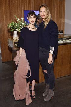 C Social Front. Jenni Kayne + Martha Stewart Living 25th Anniversary Party — Nicole Simone & Ambre Dahan