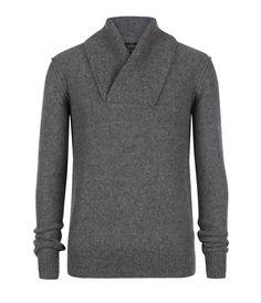 Skythe Funnel Pullover, Men, Sweaters, AllSaints Spitalfields