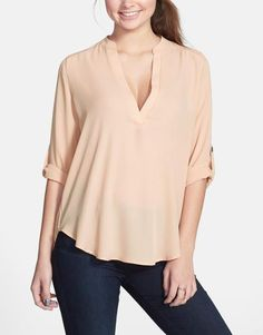 Essential! Rolled Sleeve Shirt