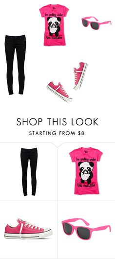 """""""Bez naslova #7"""" by ivana123654 ❤ liked on Polyvore featuring Mother, Converse and Wet Seal"""