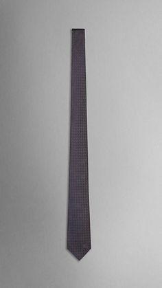 Textured Silk Tie | Burberry