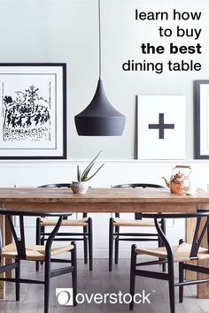 Your dining room is a natural gathering place for friends and family. The furniture you choose contributes to the mood and memories of your family dinners and special occasions. It's likely that the dining room furniture you buy now will be the furniture you'll have for a long time. This guide will help you navigate some of the most popular dining room interior design styles to help give your room a cohesive look. Find dining room furniture, décor, lighting and more at Overstock.com.