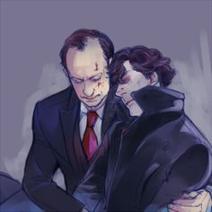 Sherlock Holmes & Mycroft Holmes | Holmes brothers, holmescest || Sherlock BBC