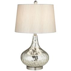 """Pacific Coast Lighting PCL Mercus 26"""" H Table Lamp with Empire Shade"""
