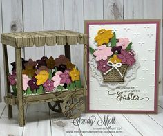 "Welcome to the Creative Circle Design Team Blog Hop!  This month's theme was Easter and I'm loving the ""Basket Bunch"" stamp set and fram..."
