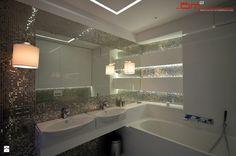 Łazienka styl Minimalistyczny - zdjęcie od bm2 brzostek maciej - Łazienka - Styl Minimalistyczny - bm2 brzostek maciej Corner Bathtub, Alcove, Bathroom, Bath, Washroom, Full Bath, Bathrooms, Corner Tub