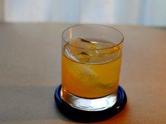 Penicillin Cocktail - Scotch Whisky, Lemon Juice, Honey Syrup, Ginger, Islay Single Malt Scotch.