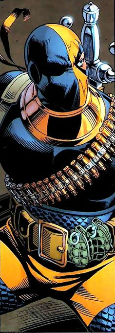 Deathstroke the Terminator by Rags Morales