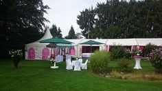 Agape im Garten Maria Wörth, Gazebo, Outdoor Structures, Pink, Event Management, Outdoor Camping, Getting Married, Celebration, Wedding