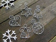Image result for diy wire ornaments