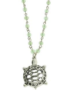 LEILA turtle necklace